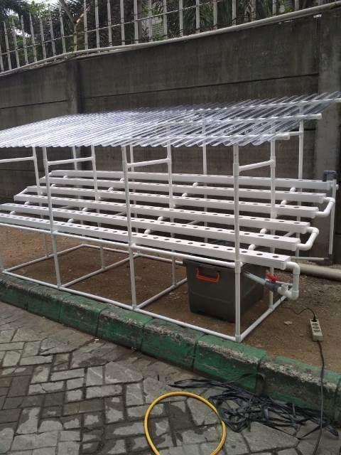 Pengiriman ke Cikupa Tangerang NFT 180 Lubang Atap SolarTuff