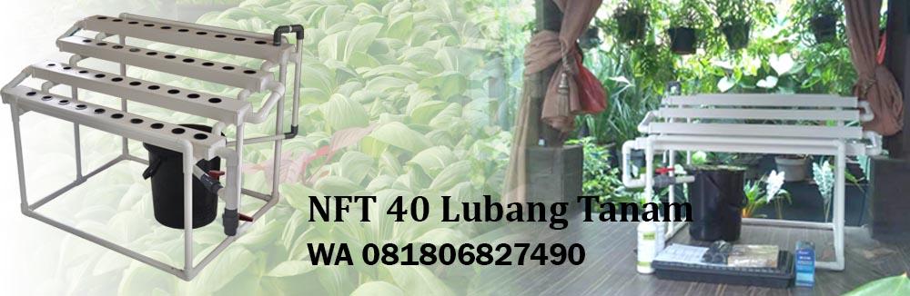 Pengiriman Hidroponik NFT 40 Lubang Tanam ke Pondok Kopi JakartaTimur