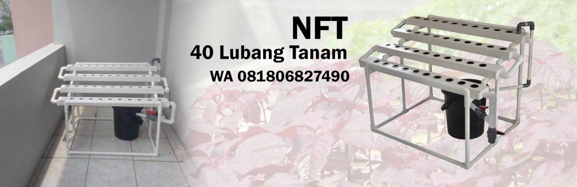 Pengiriman Hidroponik NFT 40 lt ke Grogol Jakarta Barat, 5 November2018